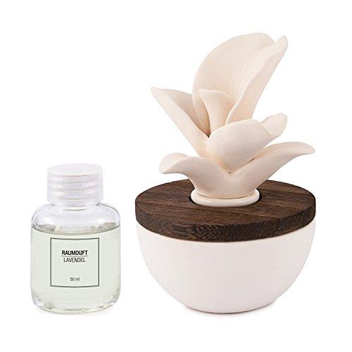 pajoma Raumduft Lavendel mit Keramikblüte, 50 ml