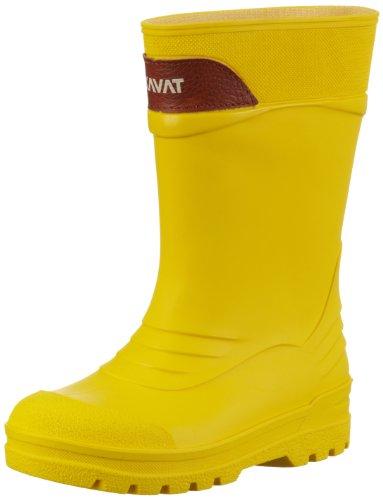 Kavat REGN 63831, Unisex-Kinder Gummistiefel ,Gelb (Regn Yellow 30),EU 24