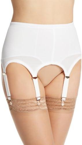 Rago Women's Brand new Plus-Size Six Safety and trust Strap Belt X Garter Shaper