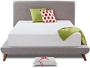 Live and Sleep Resort Classic Queen Mattress, Memory Foam Mattress - 12-Inch - Cool Bed in a Box - Medium Firm - Advanced Support - Bonus Luxury Form Pillow - Low VOC CertiPUR Certified - Queen Size