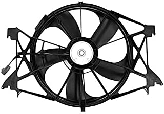 Dual Radiator and Condenser Fan Assembly - Cooling Direct For/Fit CH3115166 CH3115166 09-18 Dodge RAM Pickup 5.7/4.7/6.4L exc. Megacab