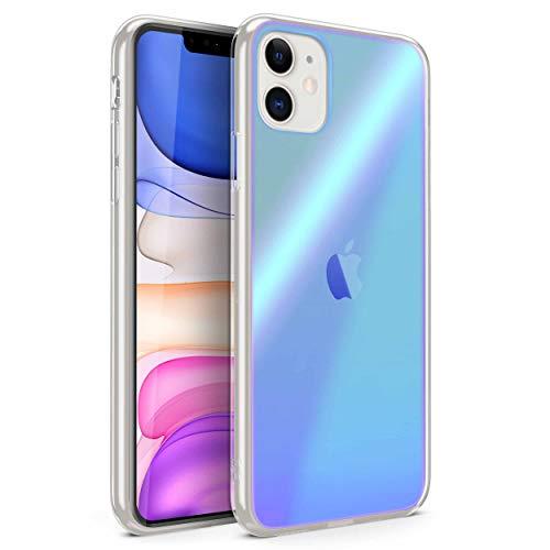 ZIZO Refine Series for iPhone 11 Case - Ultra Slim Thin Case Reflective Holographic Multi Color - Horizon