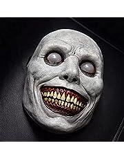Griezelige Halloween-masker-glimlachende demonen, volwassen man vrouw de boze cosplay rekwisieten, enge Halloween kostuum partij rekwisieten Ghost masker