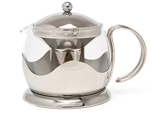 La Cafetiere Le Teapot 4-Cup Tea Infuser (Stainless Steel)