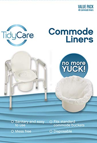 TidyCare Commode Liners – Value Pack