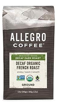 allegro decaf coffee