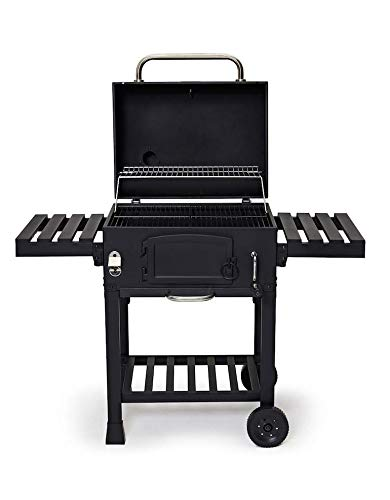 CosmoGrill New Outdoor XL Smoker Barbecue Charcoal Portable BBQ Grill...