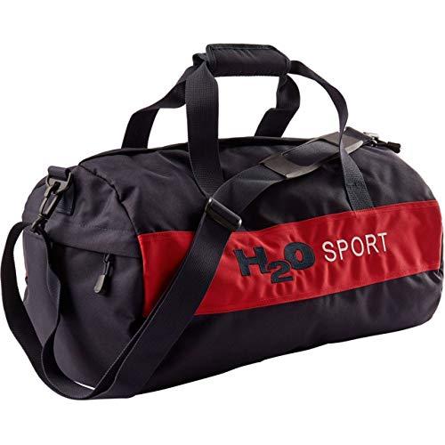 H2O Unisex Sporttasche Helsingör (Helsingor) Sports Bag M navy/rot - 32L
