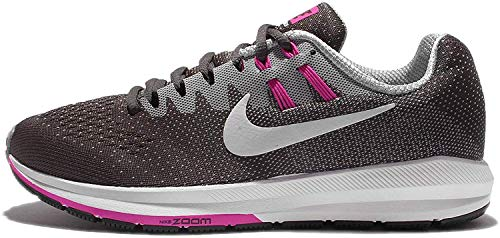 Nike Women's WMNS Air Zoom Structure 20, Anthracite/White-Wolf, Grey, Size 10.5