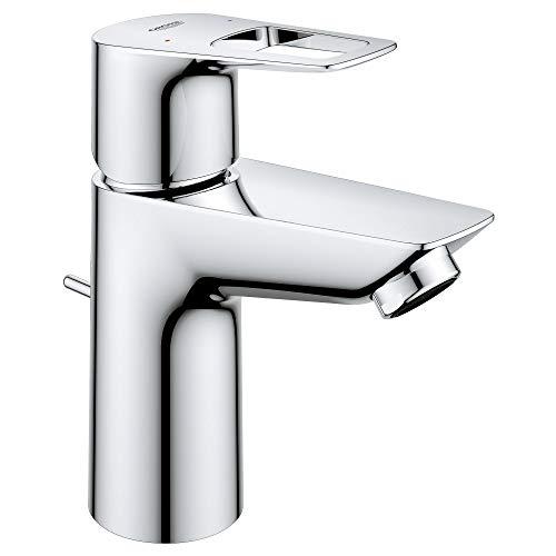 Grohe 23084000 BauLoop Single-Handle Bathroom Faucet, 1.5 GPM, Starlight Chrome