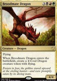 Magic The Gathering – Broodmate Dragon – Drago Della Nidiata – Commander 2017