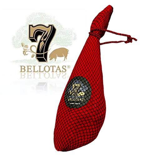 Prosciutto Spagnolo 7 BELLOTAS Pata Negra ibérico (Spalla) 4.5 Kg | Jamon Iberico (Paleta Cebo de Campo)