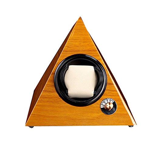 Yxx max uhrenbeweger fur automatikuhren Uhr Winder Boxen Pyramide Shake Tisch Gerät Automatische Wicklung Box Elektrische Uhrenbox Motor Box Rotierenden Uhr Box Watch Winder (Farbe : A)