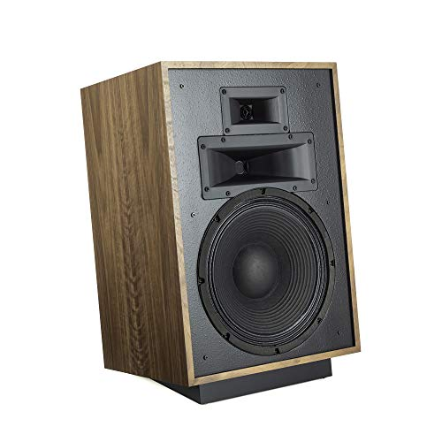 Best Deals! Klipsch Heresy IV Floorstanding Speaker in Distressed Oak Three-Way, Horn-Loaded Speaker with Updated Design