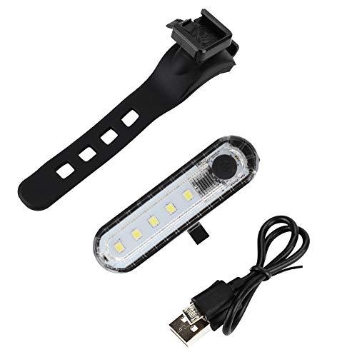 SH-RuiDu Direct Store Outdoor Cob Bike achterzadel lamp achterzadel veiligheid rood licht nacht paardrijden accessoires (wit)