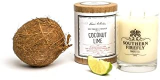 Coconut Lime 14oz Glass Candle