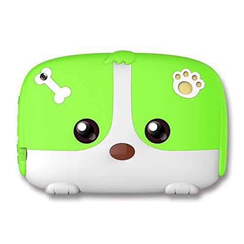 SSSY Tablet Infantil, Android 4.4 Tabletas educativas con Estuche a Prueba de niños, 1GB Ram 16GB ROM, Procesador Quad-Core, 0.3 Frontal + 0.3 MP Cámara Trasera