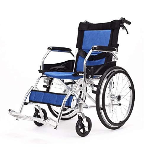 WXDP Autopropulsado espesa manual de la aleación de aluminio, dobla la vespa portátil de la carretilla de la luz/discapacitada