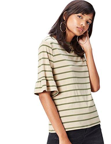 find. ER1765 camisetas, Verde (Olive/sand), 40 (Talla del Fabricante: Medium)