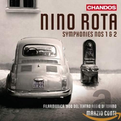 Nino Rota : Symphonies n°1 et n° 2