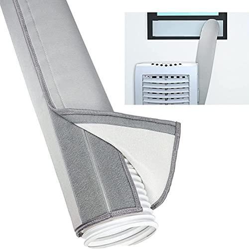 Moanyt Isolierhülle für Abluftschlauch Tragbare Klimaanlage Schlauch Isolierung für Trockner, Klimaanlage