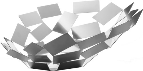 Alessi La Stanza Dello Scirocco - Frutero de acero inoxidable 18/10, acabado brillante en espejo