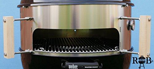ROB´s Xn1 Pizzaring/Ofenaufsatz 57ø Erweiterbar um: Rotisserie, Watersmoker, Wok, Mangal, Kesselerweiterung