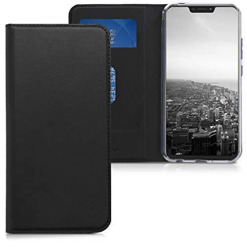 kwmobile Cover compatibile con Asus Zenfone 5 / 5Z (ZE620KL/ZS620KL) - Custodia a libro in simil pelle PU per smartphone - Flip Case protettiva