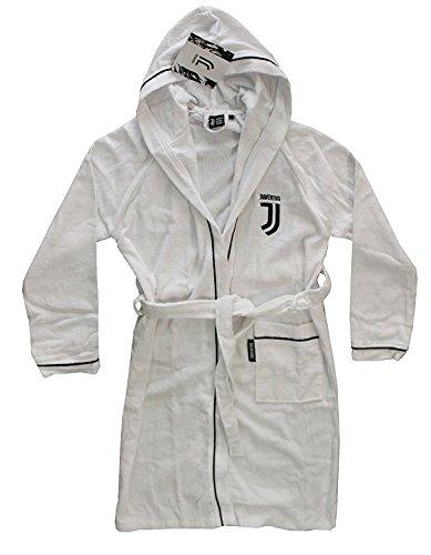 JUVENTUS 96330902131 Bademantel, 100% Baumwolle, Weiß, 40 x 30 x 8 cm, 6