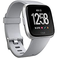 Fitbit Versa Smartwatch Deportivo, Gris