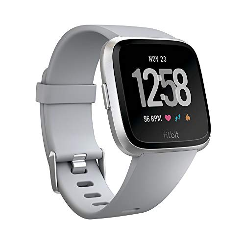 Fitbit Versa - Reloj Deportivo Unisex - Gris - Talla Única
