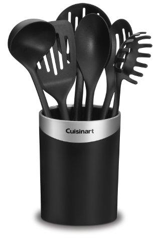 Cuisinart CTG-00-CCR7 Curve Crock with Tools, Set of 7 , Black