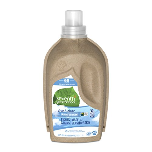 Price comparison product image Seventh Generation Concentrated Laundry Detergent,  Free and Clear Unscented,  66 loads
