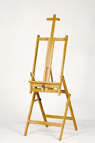Lefranc & Bourgeois Chardin - Caballete estudio para acuarela, 174 cm alto x 59 cm largo x 70 cm profundidad