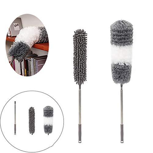 SHR-GCHAO Microfibra Allungato Spolverare Piuma, in Microfibra + Duster Mano per La Pulizia Ad Alta Ventilatori A Soffitto, Tende, Ragnatela, Cars,Style1