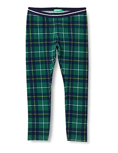 United Colors of Benetton Leggings 3FCBI0488, Verde 66d, 3 años para Niñas