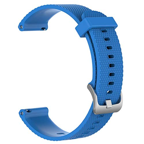 DALIN Para Samsung Galaxy Watch3/AmazfitGTR/HuaweiGT2/Garmin Texture Band Correa 20 22