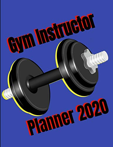 Gym instructor: Gym planner perfect for storing appointments or even as your own personal fitness plan , gift for your instructor to say thanks gift for friends and family
