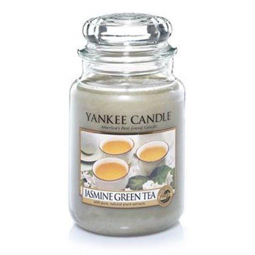 Yankee Jasmine Green Tea 22oz Housewarmer Candle
