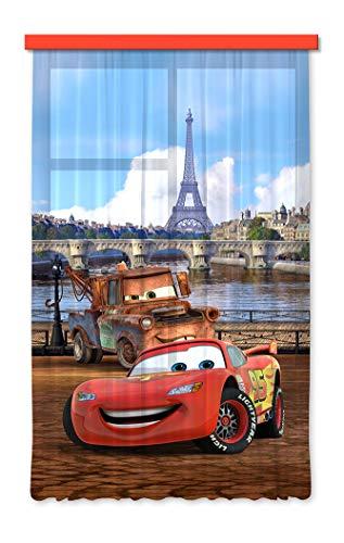 Gardine/Vorhang FCS L 7101 Disney, Cars, 140 x 245 cm, 1-teilig