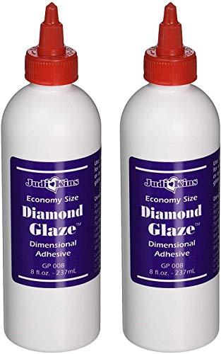 Judikins Diamond Glaze, 8-Ounce (GP008) (Тwo Рack)