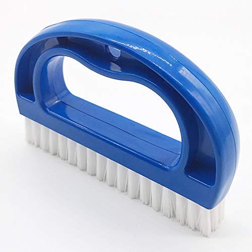 Cepillos para Limpieza de Azulejos de Lechada Herramientas de Limpieza de Hogar Cepillo para Juntas de Plástico Cepillo para Limpiar para Limpieza de Baño para Fregadero de Cocina Bañera 1 Pieza