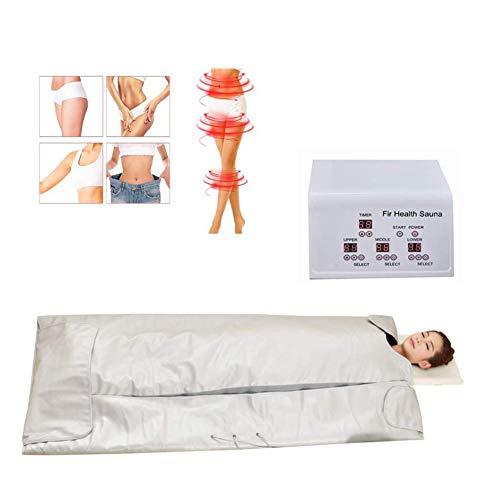 Sauna Blanket Body Shaper Weight Loss Professional Sauna Slimming Blanket Far-Infrared (FIR) Heat Blanket Detox Therapy Anti Ageing Body Home Beauty Machine