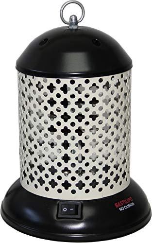 Bastilipo Estufa piña, Metal, Negro y Gris, 20x15x15 cm, 600