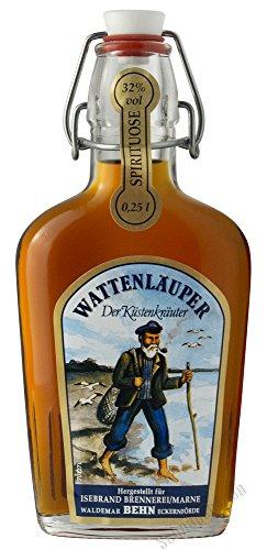 Behn Wattenläuper 32% Vol. 0,25l Taschenflasche Küstenkräuter