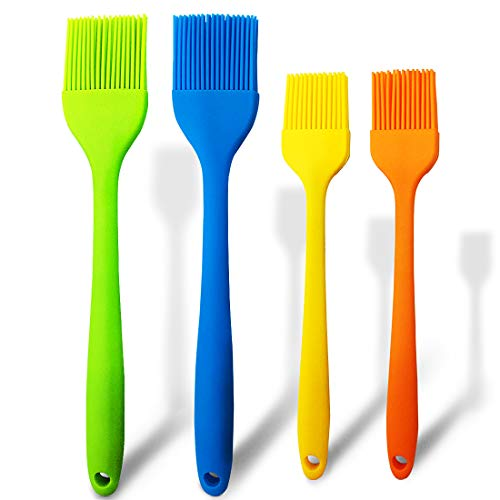 Read About Basting Brushes Silicone Heat Resistant Pastry Brush Spread Oil Butter Sauce Marinades fo...