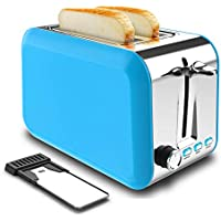 Dear Morning 2 Slice Toaster with Removable Crumb Tray