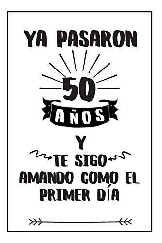 Regalo Para Aniversario: Regalos Para Bodas De Oro - Cuaderno De Notas...