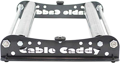 Cable Caddy 510 Heavy Duty Cable Reel Dispenser, Reel Unwinder 20 Inces Width - Various Colours (Anthracite)