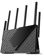 TP-Link WiFi 無線LANルーター Wi-Fi6 4804 Mbps + 574Mbps Archer AX73/A + 縦置きスタンド